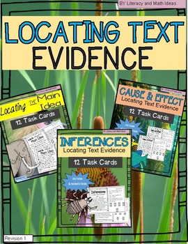 Locating Text Evidence (Combined)