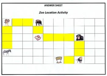Location Activity- Zoo themed