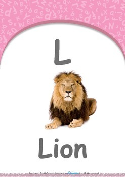 Location - Behind : Letter L : Lion - Pre-Nursery (1 year old)
