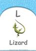 Location - Behind : Letter L : Lizard - Nursery (2 years old)