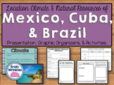 Location, Climate, & Natural Resources of Mexico, Cuba, & Brazil (SS6G3)
