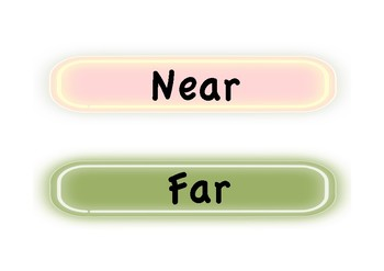 Location Directional Vocabulary Cards