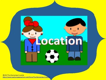 Location: Identifying Location of Objects Using Simple Terms
