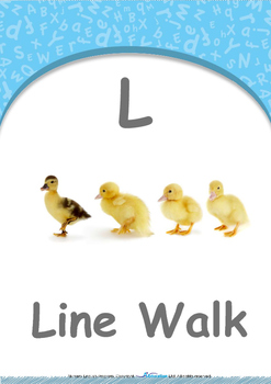 Location - In Front : Letter L : Line Walk - Nursery (2 years old)