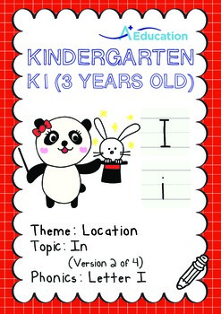 Location - In (II): Letter I - Kindergarten, K1 (3 years old)
