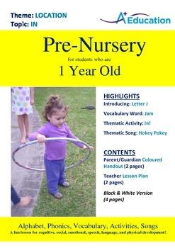 Location - In : Letter J : Jam - Pre-Nursery (1 year old)