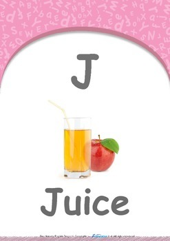 Location - In : Letter J : Juice - Pre-Nursery (1 year old)