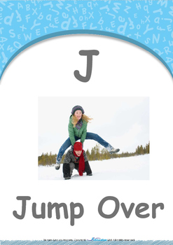 Location - In : Letter J : Jump Over - Nursery (2 years old)