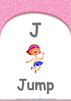 Location - In : Letter J : Jump - Pre-Nursery (1 year old)