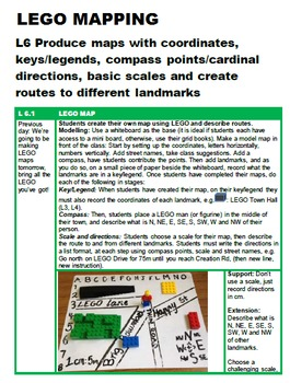 Location / Maps Full Unit with 30+ Lessons for Grades K / P 1 2 3 4 5 & 6