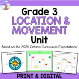 Location & Movement Unit for Grade 3 (Ontario Curriculum)