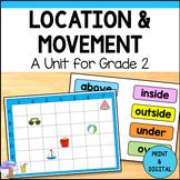 Location & Movement Unit for Grade 2 (Ontario Curriculum)