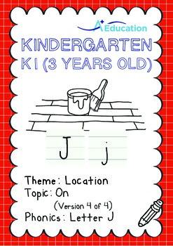 Location - On (IV): Letter J - Kindergarten, K1 (3 years old)