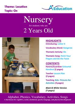 Location - On : Letter K : Kangaroo - Nursery (2 years old)