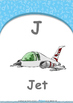Location - Out : Letter J : Jet - Nursery (2 years old)