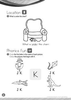 Location - Under (IV): Letter K - Kindergarten, K1 (3 years old)