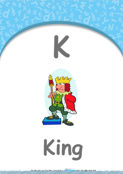 Location - Under : Letter K : King - Nursery (2 years old)