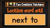 Location Word Wall