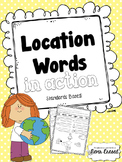 Location Words Practice Pages