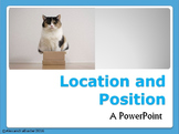 Location and Position PowerPoint (Topic Words)