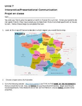 Location d'une maison en France