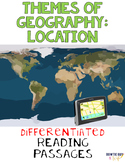 Themes of Geography: Location Nonfiction Differentiated Reading Texts