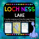 Loch Ness Lake - Mapping, Location, Transformation, Coordinates, grid references