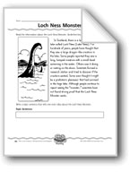 Loch Ness Monster (Topic Sentence/Supporting Details)