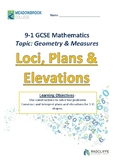 Loci, Elevations and Plans