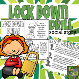 Lock Down Drill Social Story Mini Book Set