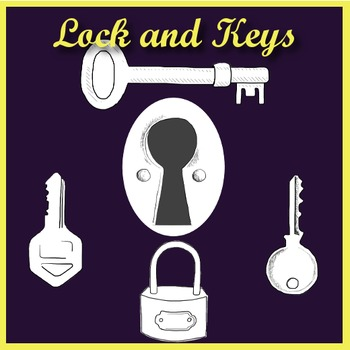 Lock & Keys - Clip Art
