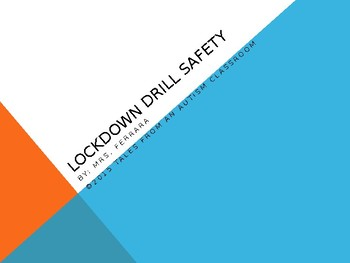 Lock down Drill Safety Social Story