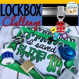 Lockbox Challenge Activity|Logic Puzzle|Enrichment|Slime Theme