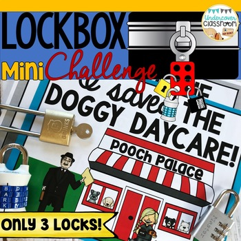 ENRICHMENT FOR GIFTED STUDENTS|GATE Projects|Lockbox Mini Challenge|Dogs
