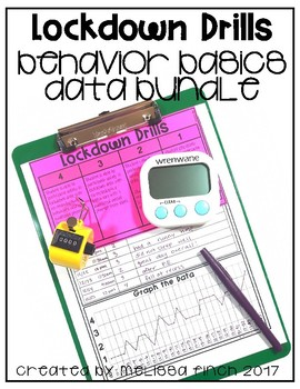 Lockdown Drills- Behavior Basics Data Bundle