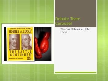 Locke vs. Hobbes Debate Carousel