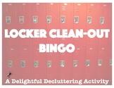 Locker Clean-Out Bingo: A Delightful Decluttering Activity