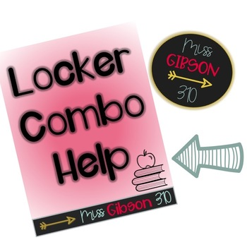 Locker Combination Help