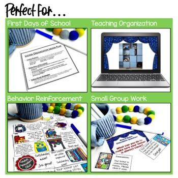 Setting the Stage: Locker Organization Lesson Plan - Back to School