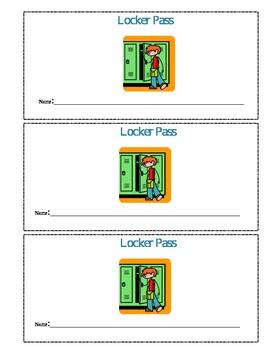 Locker Pass