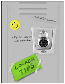 Locker Tips and Instructions - How to open your locker