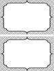 Locker tags- Argyle pattern