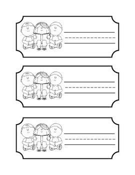 Locker/Cubbie Labels