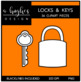 Locks & Keys {Graphics for Commercial Use}