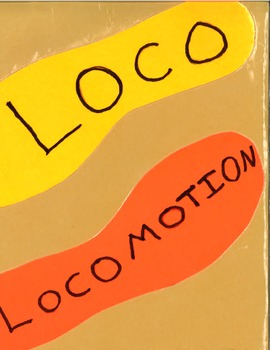 Loco - Locomotion File Folder Game for Physical Education