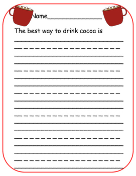 Loco for Cocoa Opinion Writing