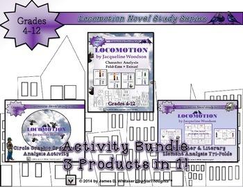Locomotion by Jacqueline Woodson Activity Bundle