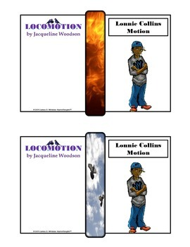 Locomotion by Jaqueline Woodson Character Analysis Fold-Ems