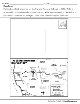 Locomotive Lesson Plans & Activities Package, Third Grade (CCSS)