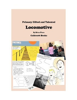 Locomotive by Brian Floca - Primary GATE Unit with Caldecott STEAM!